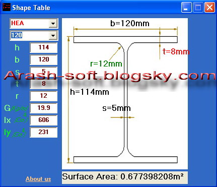 نرم افزار شیپ تیبل Shape Table